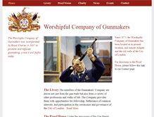 Tablet Preview of gunmakers.org.uk